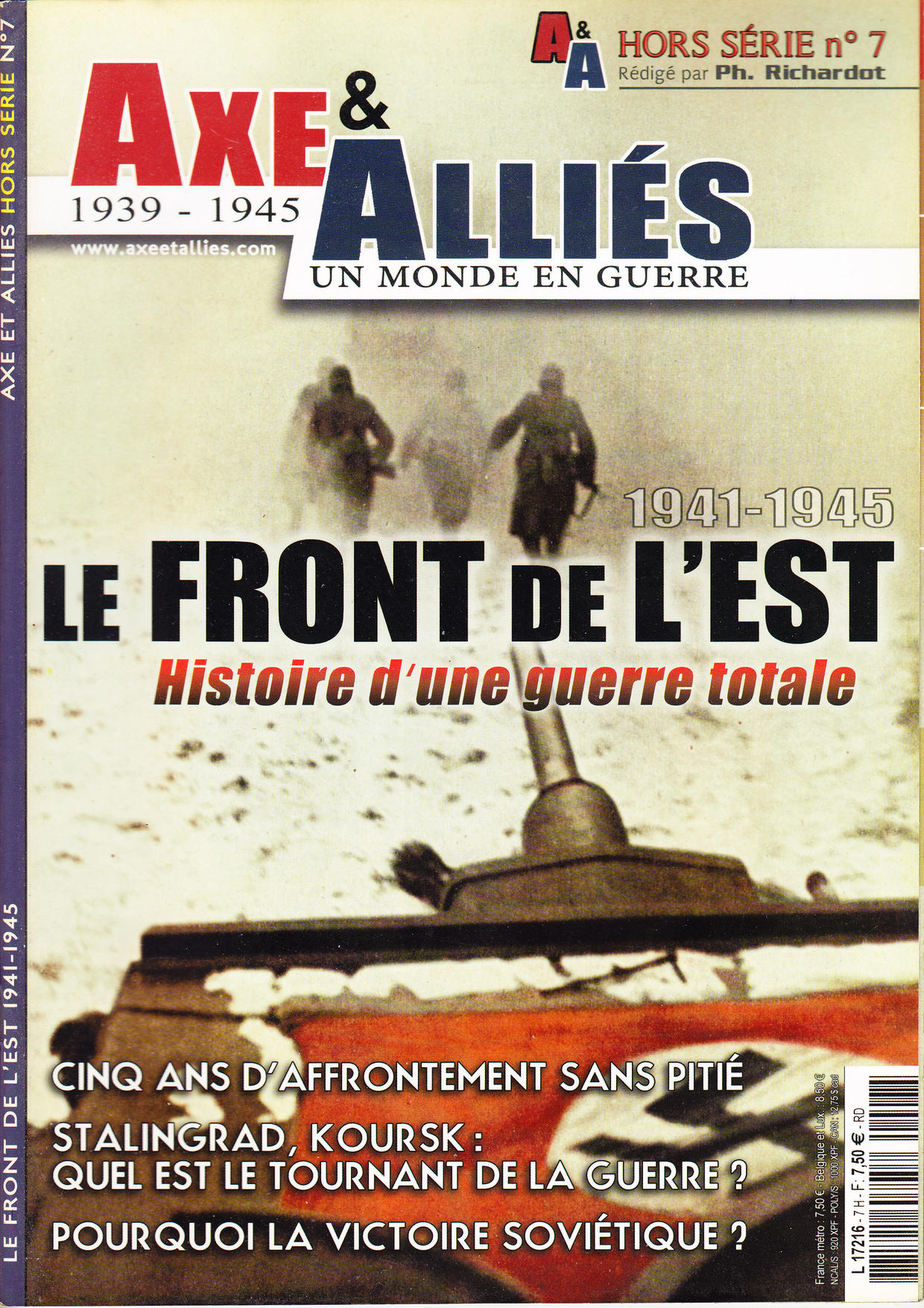 Axe & Alliés - 1939 - 1945 - Hors série 07