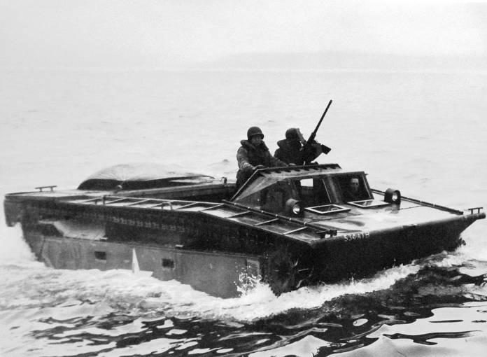 Landing Vehicle Tracked (LVT) Water Buffalo