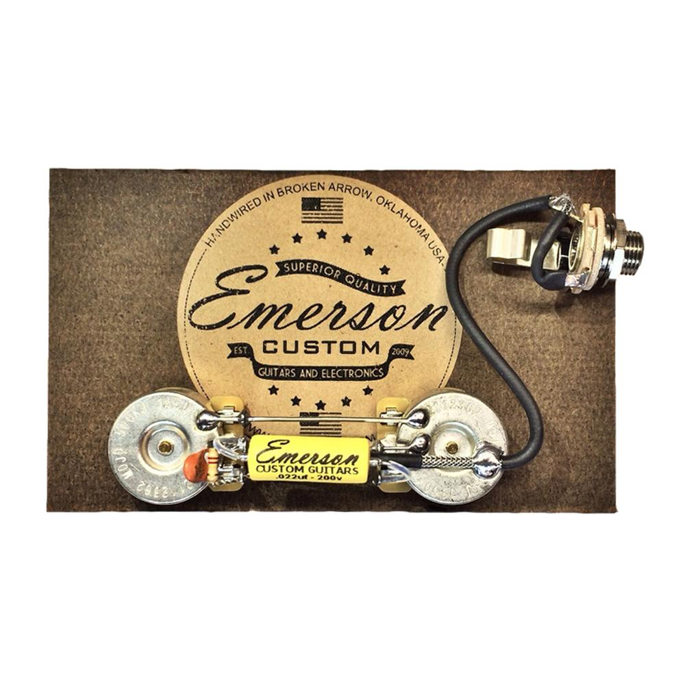 hight resolution of emerson custom les paul junior prewired kit lp jr