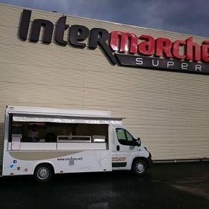 Photo Foot Truck Axébon Intermarché de Beaumont sur oise 95