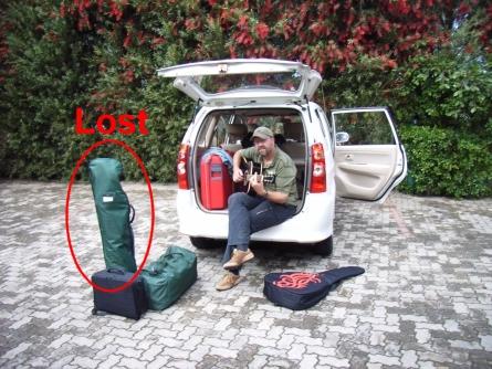 Lost Golfbag