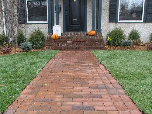 Paver Patios & Sidewalks