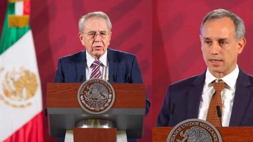 autoridad sanitaria Jorge Alcocer y López-Gatell