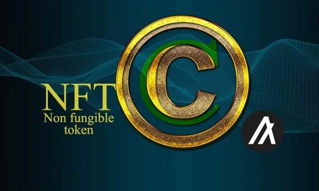 non fungible tokens copyright nfts derechos de autor digital
