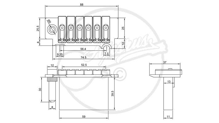 Wilkinson VS50MkII Tremolo