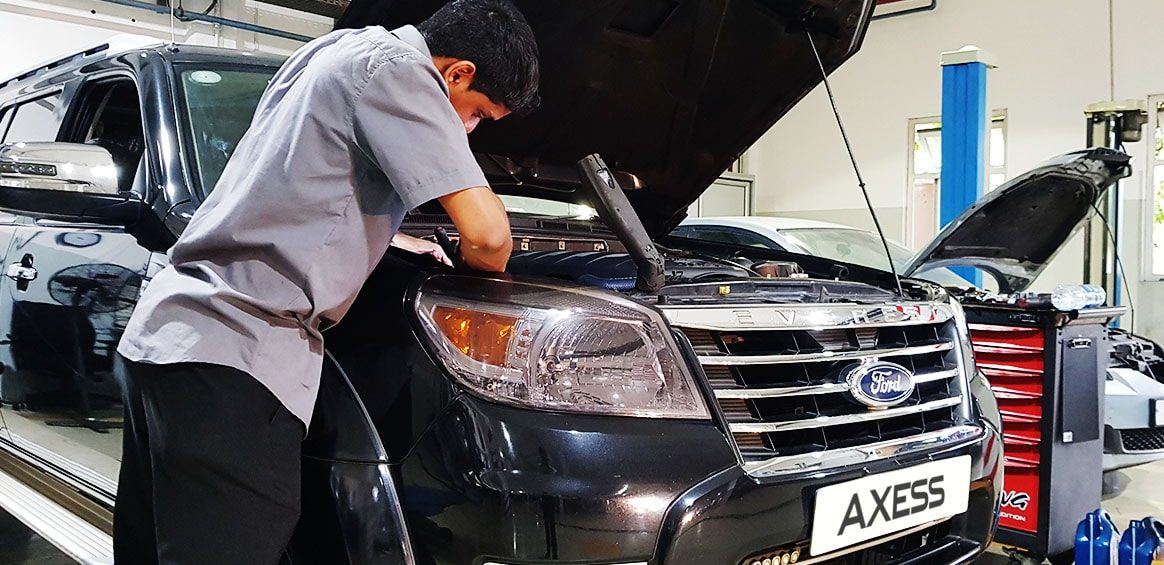 Mechanical Workshop | Multi Point Inspection | Car Repairs and Maintenance | Axess Mauritius