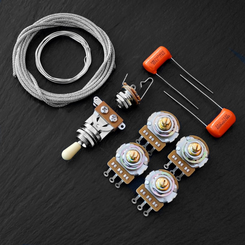 medium resolution of guitar kits by axetec wiring kits for les paul sg 335 gibson wiring kit uk