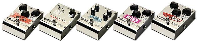 Akai analog guitar pedals