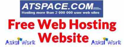 Atspace free web hosting website