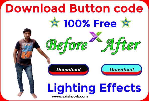 html download button for lighting effects code free download