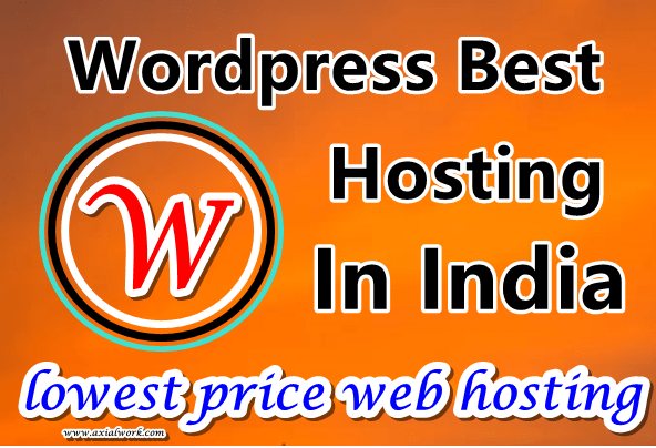 best web hosting for wordpress in india hosting cheap price