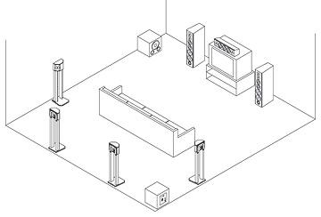 7 1 Surround Sound Diagram DVD Player Diagram Wiring