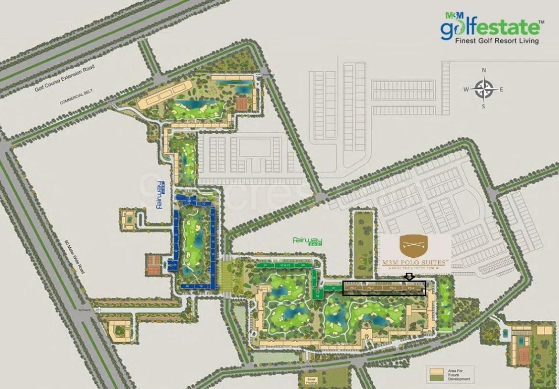 M3M Polo Suites Site Plan