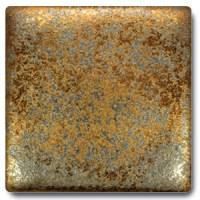 Spectrum 1114 Metallic Gold Rain Cone 5/6 Glaze