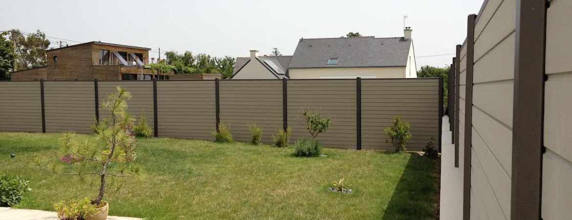 Cl ture mitoyenne alu pvc composite sur nantes 44 for Cloture ocewood