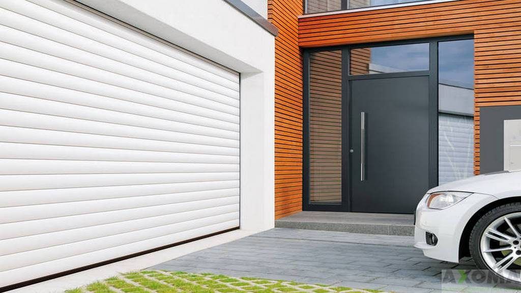 Porte enroulable hormann rollmatic - Porte enroulable garage ...