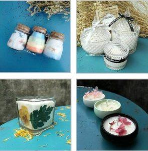 handmade soy wax candles