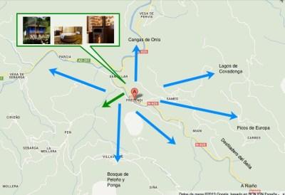 Mapa: Entorno CERCANO