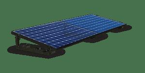 Pose en surimposition avec le système Easy Roof Flat