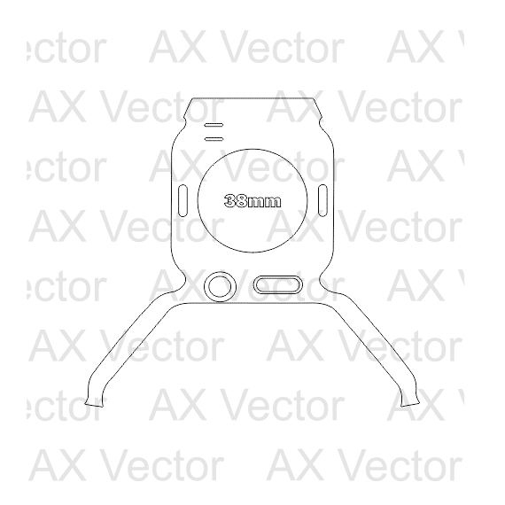 Amazon Echo Dot 2 Vector Template