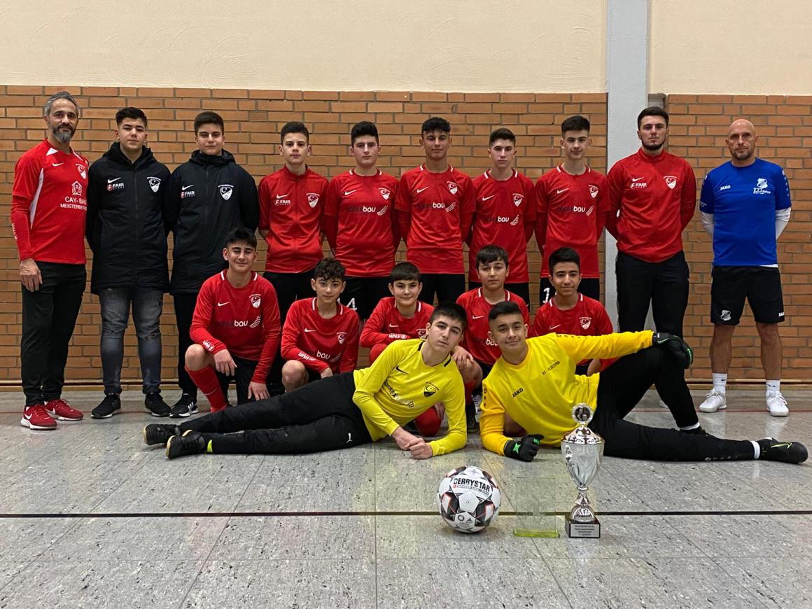 Ay-Yildizspor C-Junioren sind Stadtmeister