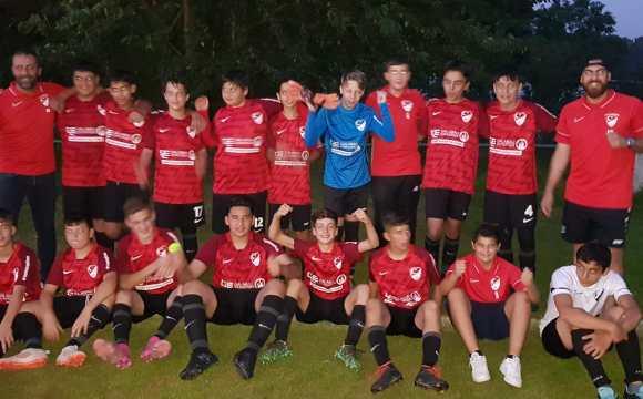Ay-Yildizspor C-Jugend gewinnt gegen FC Wegberg-Beeck und erreicht das Kreispokalfinale