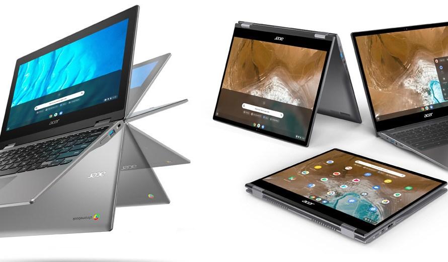 Presentan nuevas Chromebook de Acer, simplemente… alucinantes