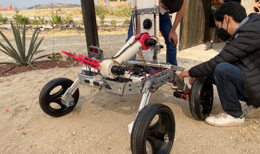 Estudiantes del Tec de Monterrey e IPN desarrollan vehículo de exploración marciana