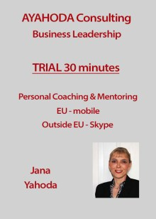 Ayahoda Consulting Trial 30 Minutes Personal Coaching