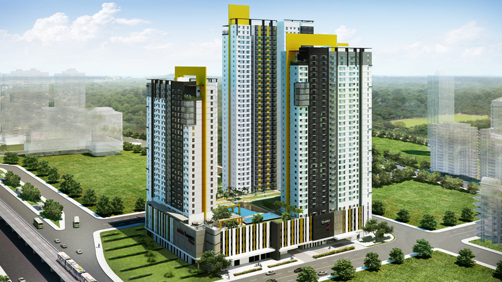 Avida Towers Vita  Vertis North Quezon City For Sale