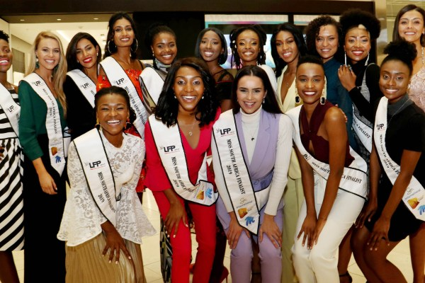 Miss South Africa top 16 on women's month and female empowerment