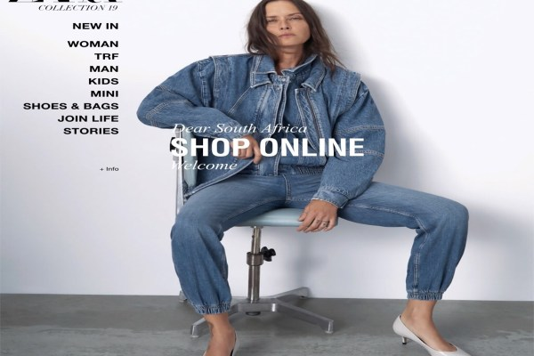 ZARA LAUNCHES SOUTH AFRICAN ONLINE STORE