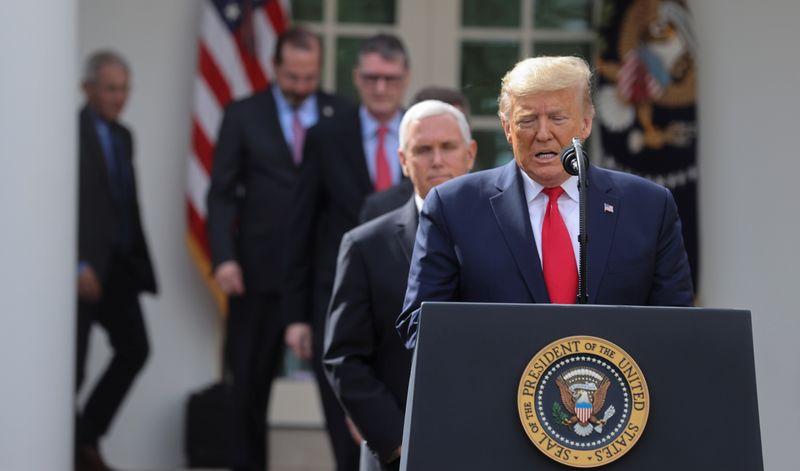 【海外】「制御出来ているんじゃなかったのかよ!」トランプ大統領が国家非常事態を宣言