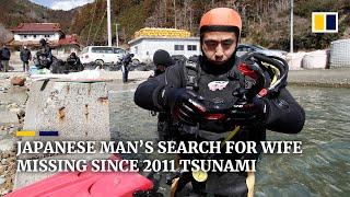 【海外】「愛の力って凄いな・・」震災から10年経った今も海に潜り津波で失った妻を探し続ける男性に海外も感動!