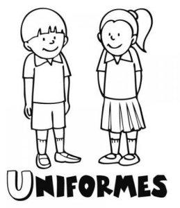 Dibujos uniformes