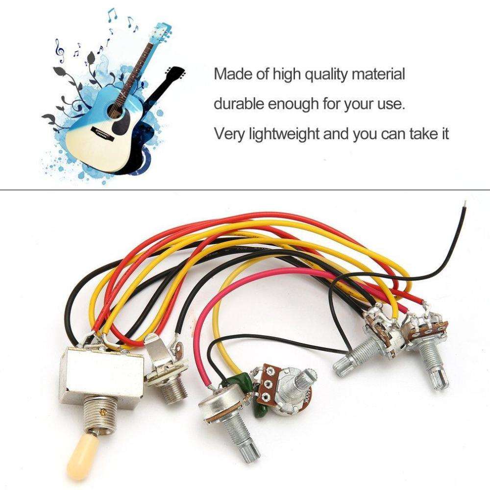 medium resolution of all you need to do is solder your pickups to the switch and ground them to the volume pots circuit wiring set for lp sg epi