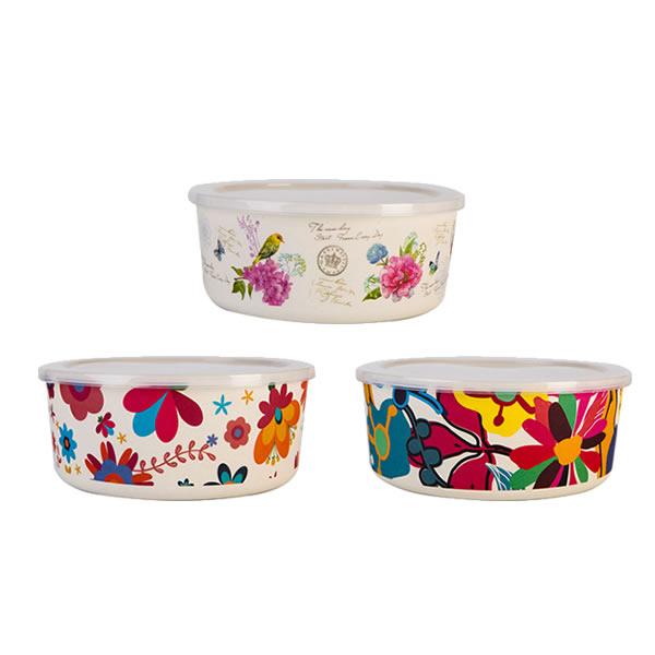6.5″ Bamboo Fiber Kitchen Bowls