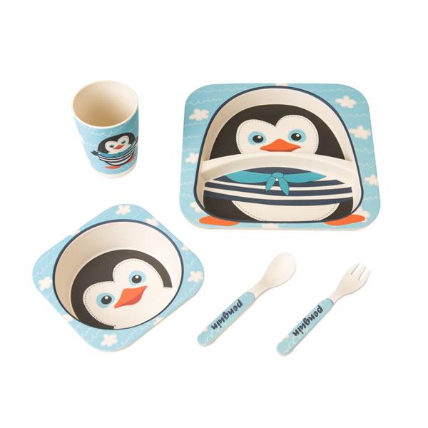 Bamboo Fiber Baby Feeding Tableware & Dishware