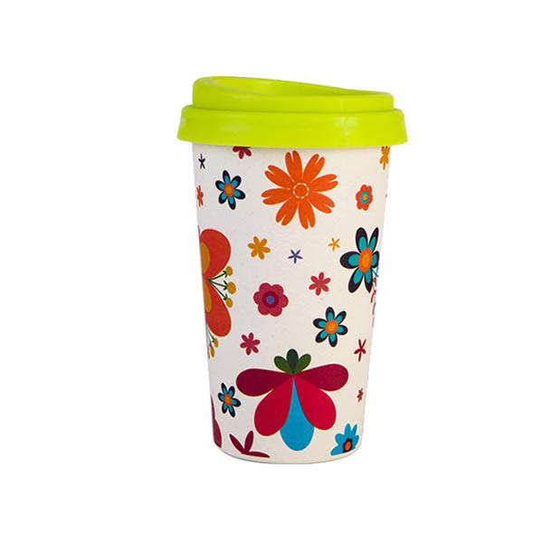 Bamboo Fiber Cup Saucer 16OZ