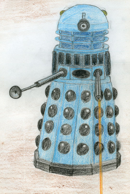 Dalek drawing