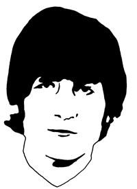 John Lennon 1965 by Ayd Instone