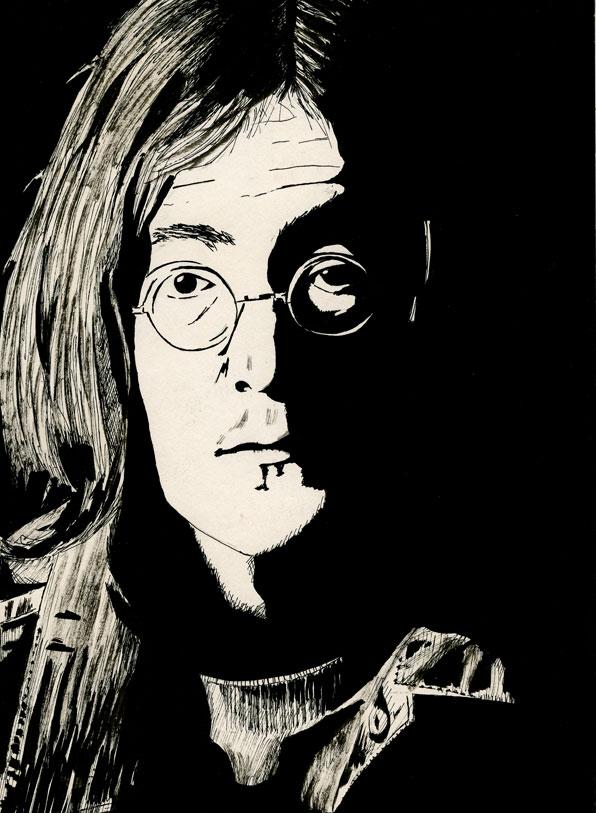 John Lennon 1968 by Ayd Instone