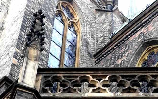 Church of St. Ludmila - detail
