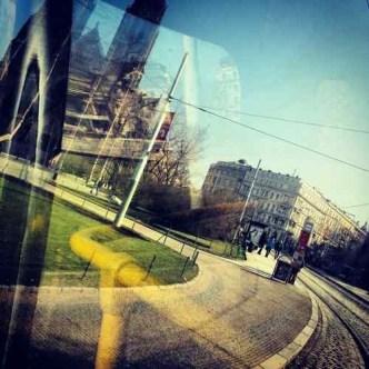 Namesti Miru from a tram