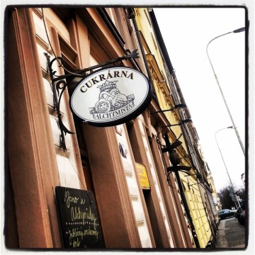 Alchymista cukrarna cafe Letna