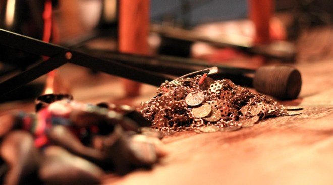 Saratolina's Musical Instrument in Rybanaruby club in Vinohrady