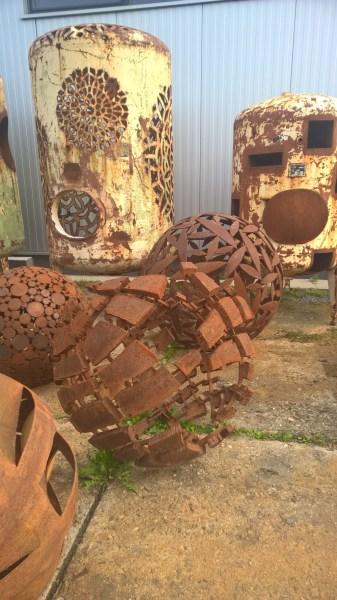 Art Studio Bubec Sculptures by Cestmir Suska