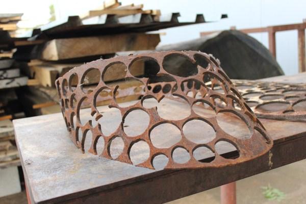Czech sculpture Art Studio Bubec Cestmir Suska detail