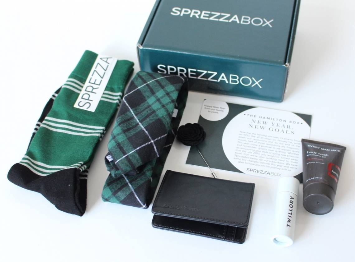 SprezzaBox January 2016 5