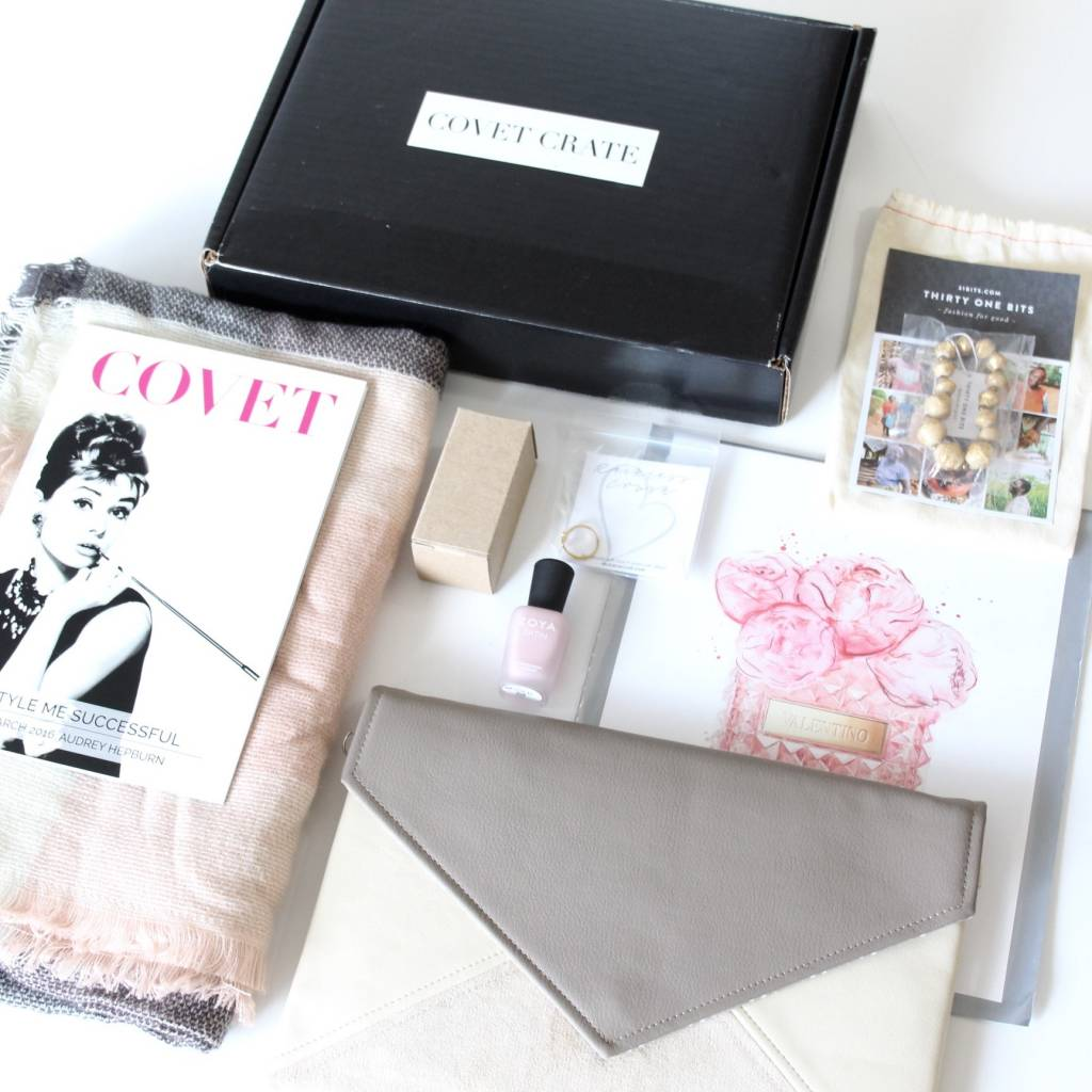 Covet Crate March 2016 6